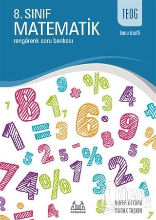 TEOG Konu Özetli 8. Sınıf Matematik - Rengarenk Soru Bankası - Kitap16