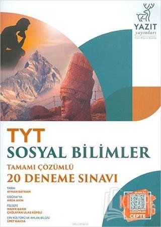 TYT Sosyal Bilimler Tamamı Çözümlü 20 Deneme Sınavı - Kitap16