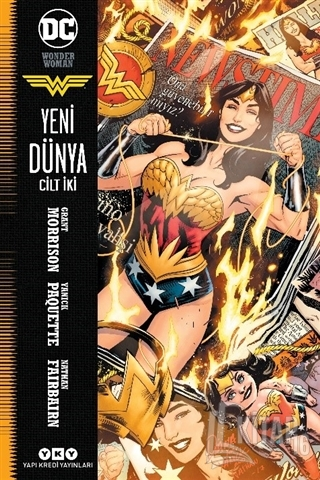 Wonder Woman Cilt 2 - Yeni Dünya - Kitap16