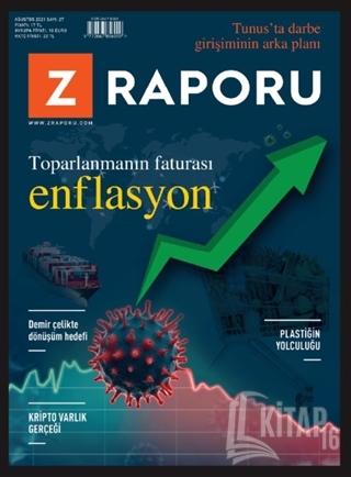 Z Raporu Dergisi Sayı: 27 Ağustos 2021 - Kitap16
