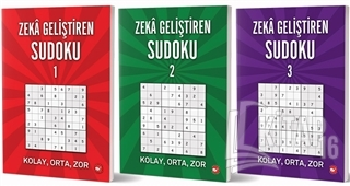 Zeka Geliştiren Sudoku Seti (3 Kitap Takım) - Kitap16