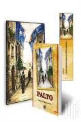 Palto 3'lü Set (Kitap - Mini Tablo - Ayraç)