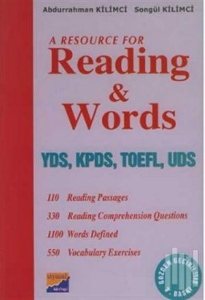 A Resource For Reading and Words YDS, KPDS, TOEFL, UDS