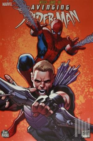 Avenging Spiderman 02 - Hawkeye ve Captain America