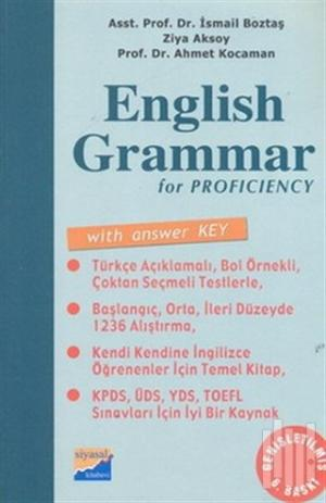 English Grammar for Proficiency With Answer Key / Answer Key (Cevap An
