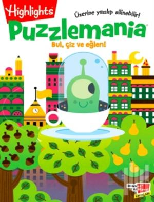 Highlights Puzzlemania (Wowo Bul, Çiz ve Eğlen) 2'li Set | Kolektif |