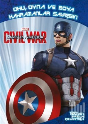 Marvel Captain America: Civil War Kolektif | kitapambari.com