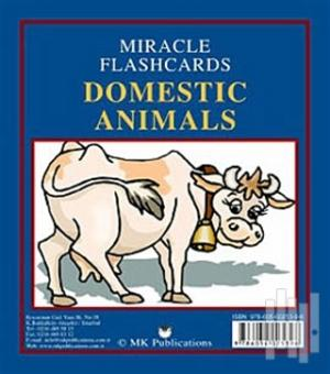 Miracle Flashcards - Domestic Animals