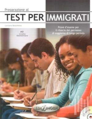 Preparazione Al Test Per İmmigrati A2 +CD