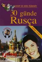 30 Günde Rusça (kitap + 2 CD)