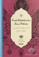 Cenab Şahabeddin'den Seçme Metinler (Osmanlıca-Türkçe) (Ciltli)