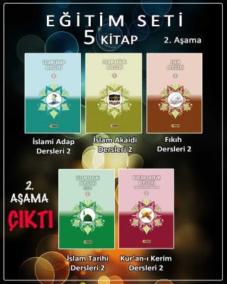 İslam Akaidi Dersleri-2, İslami Adap Dersleri-2, İslam Tarihi Dersleri-2, Kur'an-ı Kerim Dersleri-2, Fıkıh Dersleri-2