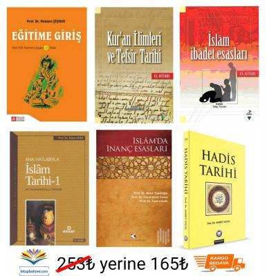 MUŞ ALPARSLAN İSLAMİ İLİMLER 1.SINIF DERS KİTAPLARI