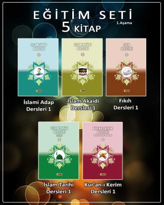 İslam Akaidi Dersleri-1, İslami Adap Dersleri-1, İslam Tarihi Dersleri