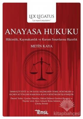 Anayasa Hukuku - Lex Legatus
