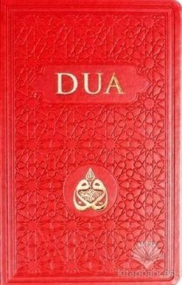 Dua (Arapça-Türkçe, Kırmızı)