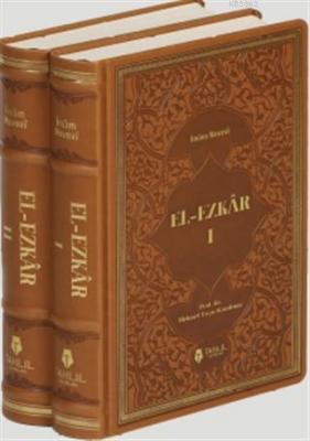 El-Ezkâr - Tercüme ve Şerhi (Lüks Termo Deri Kapak - 2 Cilt) İmam Neve