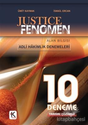 Justice Fenomen Adli Hakimlik Tamamı Çözümlü 10 Deneme