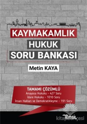 Kaymakamlık Hukuk Soru Bankası