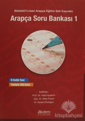 Silsiletü'l-Lisan Arapça Eğitim Seti Kaynaklı Arapça Soru Bankası 1