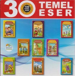 100 Temel Eserden Seçme Çocuk Klasikleri Seti 30 Kitap