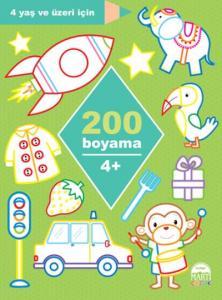 200 Boyama-4 Yaş Üzeri İçin