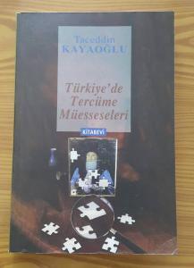 Türkiye' de Tercüme Müesseseleri
