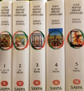 Alevi Bektaşi Şiirleri Antolojisi 5 Cilt Takım