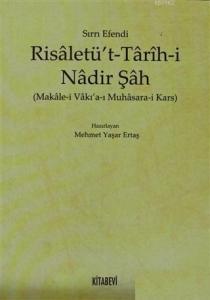 Risaletü't - Tarih-i Nadir Şah