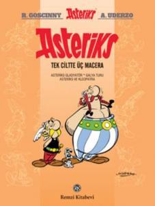 Asteriks-Tek Ciltte Üç Macera-2