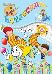 Balıkları Boyuyorum 4 Yaş