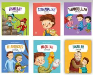 Benim Güzel Kelimelerim 6 Kitap Set