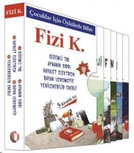 Çocuklar İçin Öykülerle Bilim Seti 5 Kitap
