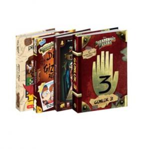 Disney Esrarengiz Kasaba Mega Seti 4 Kitap
