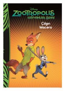 Disney Zootropolis Hayvanlar Şehri Çılgın Macera