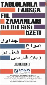 Farsça Fiil Zamanlari ve Dilbilgisi Tablosu Özeti