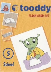 Flash Card Set-5 School (Brd)
