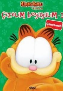 Garfield İle Arkadaşları 2 Çizelim Boyayalım
