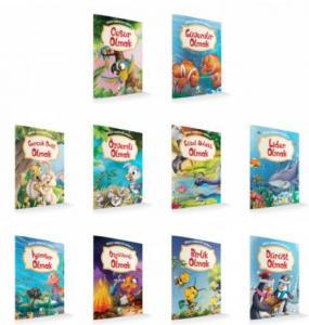 Güçlü Karakter Serisi 10 Kitap Set