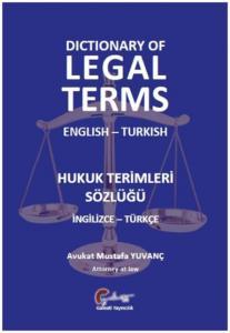 Hukuk Terimleri Sözlüğü İngilizce-Türkçe