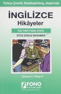 İngilizce Hikayeler-Otuz Dokuz Basamak-Derece 4-Kitap 4