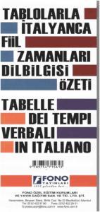 İtalyanca Fiil Zamanlari Ve Dilbilgisi Tablosu