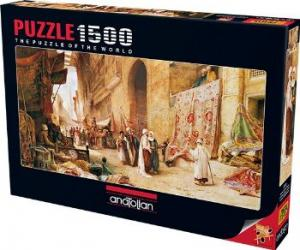 Kahire'de Halı Pazarı (Puzzle 1500) 3751