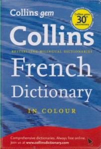 KAMPANYALI - Collins French Dictionary - Cep (19,50 TL)