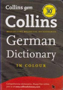 KAMPANYALI - Collins German Dictionary -  Cep (19,50 TL)