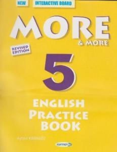 Kurmay More-More 5 English Practice Book