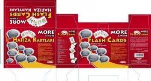 Kurmay More-More Flash Cards -İngilizce Hafıza Kartları