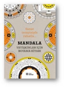 Mandala-Yetişkinler İçin Boyama Kitabı