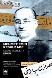 Mehmet Emin Resulzade Seçme Eserleri 1