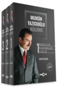 Muhsin Yazıcıoğlu Külliyatı 3 Cilt-Ciltli